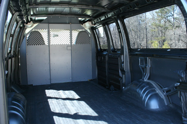 Vehicle #6341 interior